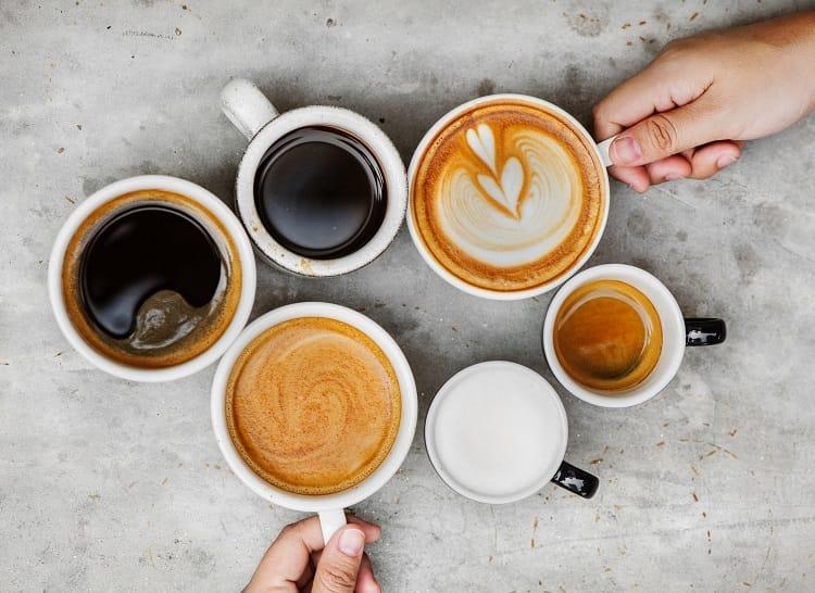 Espresso Drinking