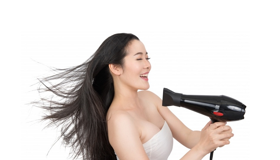 How to Use Hair Dryer by Yourself