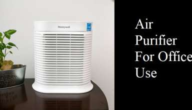 Air Purifier For Office Use