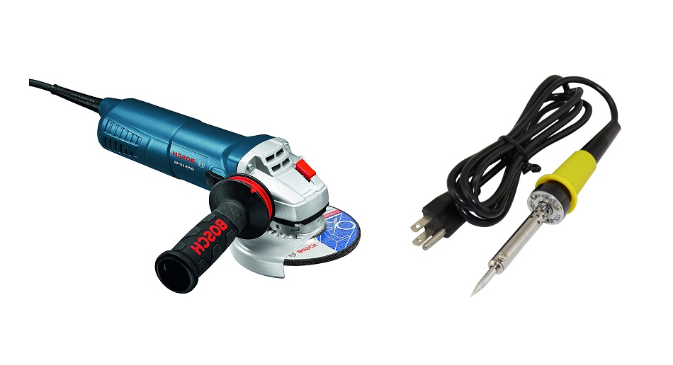 Difference Between Angle Grinder vs Soldering Iron