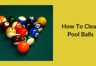 How to Clean Pool Balls