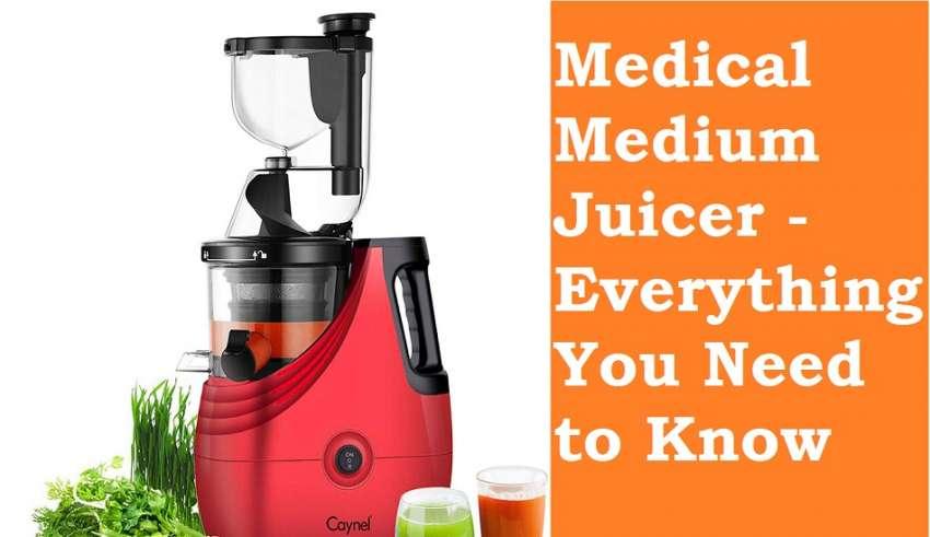 Medical Medium Juicer