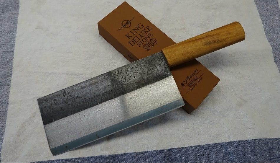 How To Sharpen A Chinese Cleaver