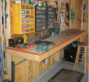 Build an All in One Workbench for Your Garage