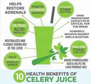 Benefits of Juicing Celery