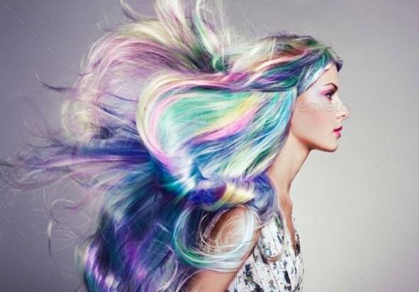 How to dye synthetic hair
