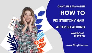 How to Fix Stretchy Hair After Bleaching