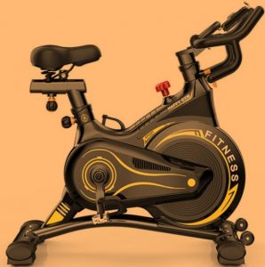 Exercise bike benefits the stomach