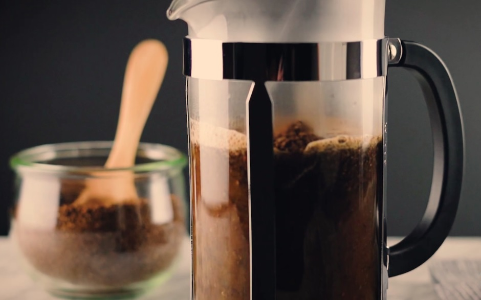 Grind Coffee Beans With French Press