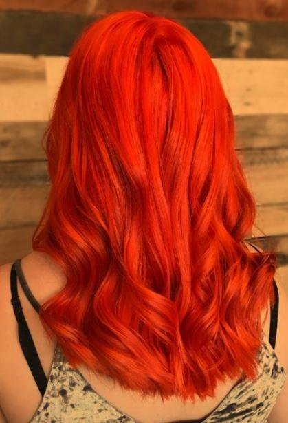 Get rid of orange hair