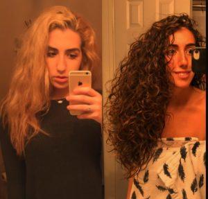 Repair Bleached Curly Hair