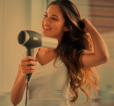 Use a Hair Dryer Yourself